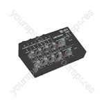 Mini Line Level Mixers - 4 Stereo Channel & Instrument - LM82