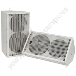 "8"" Speakers 100W - Pair - CX-8088 white - CX-8088W"