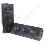 "2 x 6.5"" Speakers 160W - Pair - CX-1608 black - CX-1608B"