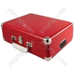 Attaché - Suitcase Record Player - Red - Attache
