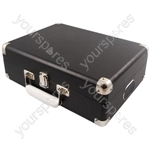 Attaché - Suitcase Record Player - Black - Attache