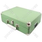 Attaché - Suitcase Record Player - Apple Green - Attache