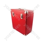 Vinyl Record Case - Red