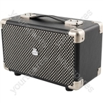 Mini Westwood - Retro Style Bluetooth® Speaker - Small Black
