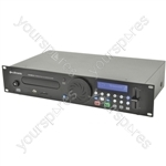 CDUSB-2 rackmount CD/USB/SD player 2U