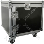 "19"" Equipment Racks with Wheels - 8U case - RACK:8X"