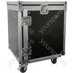 "19"" Equipment Racks with Wheels - 12U case - RACK:12UX"