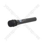 16 channel UHF handheld mic transmitter Ch38
