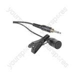 Lavalier Tie-clip Microphones for Wireless Systems - LM-35 cardioid