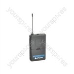 Replacement QU4 Bodypack Transmitters - 864.99MHz - QU4-BT864.99
