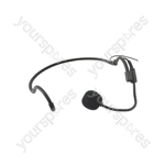 Neckband Microphones for Wireless Systems - Heavy duty cardioid - HAN-35