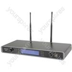 RU210 Tuneable Dual UHF Microphone System - RU210-N Multi-UHF Neckband/Lavalier - RU210H