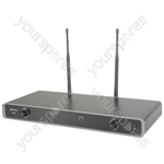 Dual UHF Wireless Beltpack System - NU2 Neckband/Lapel 863.3MHz + 864.3MHz - NU2-N