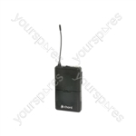 Beltpack Transmitters for NU1 and NU2 Systems - 863.3MHz - NUBP-863.3