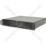P Series Stereo & Sub Power Amplifiers - P44800 2 x 400W + 800W