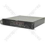 P Series Stereo & Sub Power Amplifiers - P551000 2 x 550W + 1000W