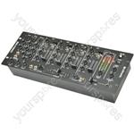 """4 Channel 19"""" DJ Mixer - CDM8:4 USB 14 - INPUT RACK"""