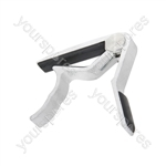 Spring guitar capo - black