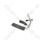 Compact spring lever capo