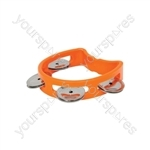 Mini D Tambourines - - orange - MTM-OR