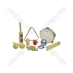 Hand Percussion Set - - 9 instruments - CPS09