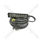 Professional XLR Stage Boxes - 8 Snake 15m - SB8:30