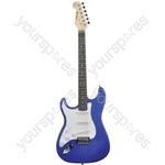 CAL63 Electric Guitars - CAL63/LH Metal Blue - CAL63/LH-MBL