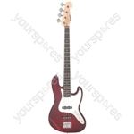 CAB42 Bass Wine Red Burst