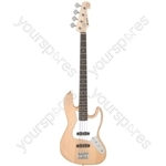 CAB42 Electric Bass Guitars - Natural - CAB42-NT