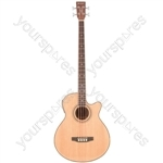CJB4CE Electro-acoustic Bass Guitar - CJB4CE-NT natural