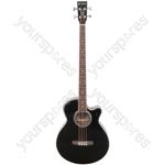 CJB4CE Electro-acoustic Bass Guitar - CJB4CE-BK black