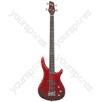 Electric Bass Guitars - CCB90 Metallic Red - CCB90-MRD