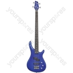 CCB90 Electric Bass Guitars - Metallic Blue - CCB90-MBL