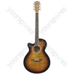 CMJ4Ce Electro-acoustic Guitars - CMJ4CE/LH SB - CMJ4CE/LH-SB