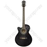 Electro-acoustic Guitars - CMJ4CE/LH Blk - CMJ4CE/LH-BK