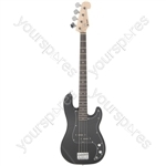 CAB1 Electric Bass Guitar - CAB41 Black - CAB41-BK