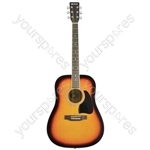 Western Guitar - CW26 - sunburst - CW26-SB