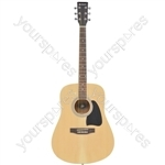 CW26 western guitar - left-hand - natural