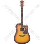 CW36CE Electro-acoustic Guitar - sunburst - CW36CE-SB
