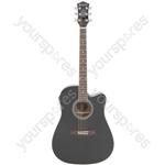 CW36CE Electro-acoustic Guitar - black - CW36CE-BK
