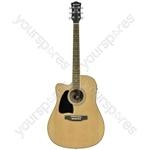 CW36CE Electro-acoustic Guitar - CW36CE/LH L/H natural - CW36CE/LH-NT