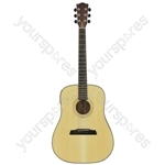 Stanza Series Electro-acoustic Guitars - STW3SE 4/4 Western