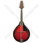 CTM28-RB Traditional Mandolin Redburst