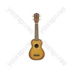CU21-BK ukulele - black