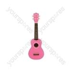 Ukulele - CU21-PK - pink