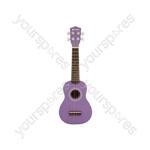 Ukulele - CU21-PP - purple