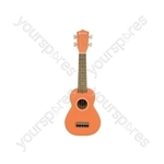 Ukulele - CU21-OR - orange