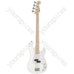Electric Bass Guitar - CAB41M Arctic White - CAB41M-ATW
