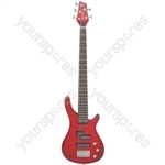 CCB95 Bass Guitar - 5-string - metallic red - CCB95-MRD