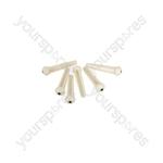 Bridge Pins - White